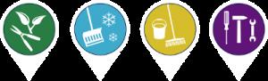 Icons_Dienstleistungen der welno